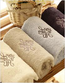 时尚毛浴巾套